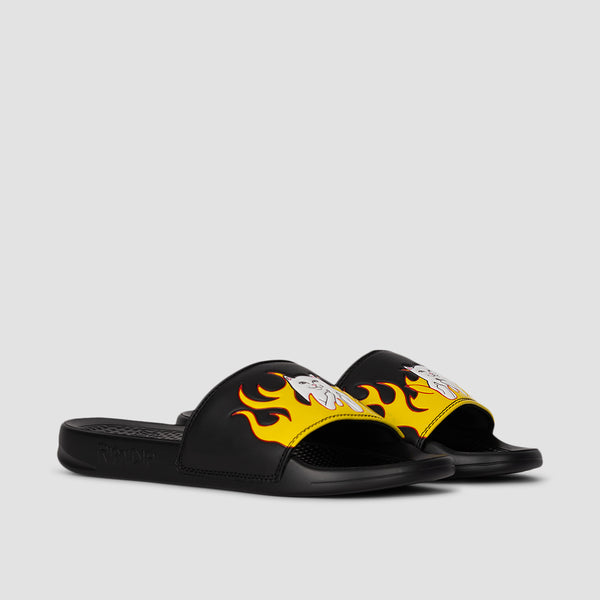 Ripndip Welcome to Heck Slides Black