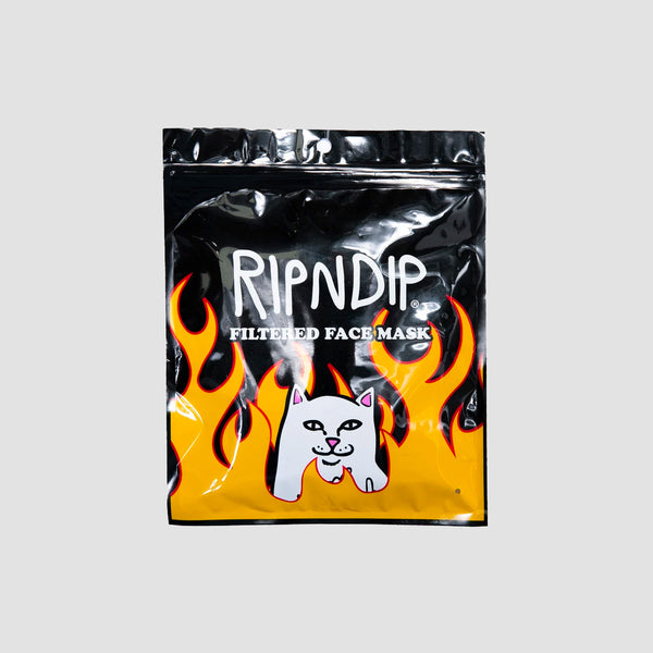 Ripndip Welcome to Heck Ventilated Mask Black