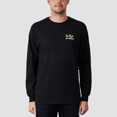 Rollersnakes Chunker Long Sleeve Tee Black
