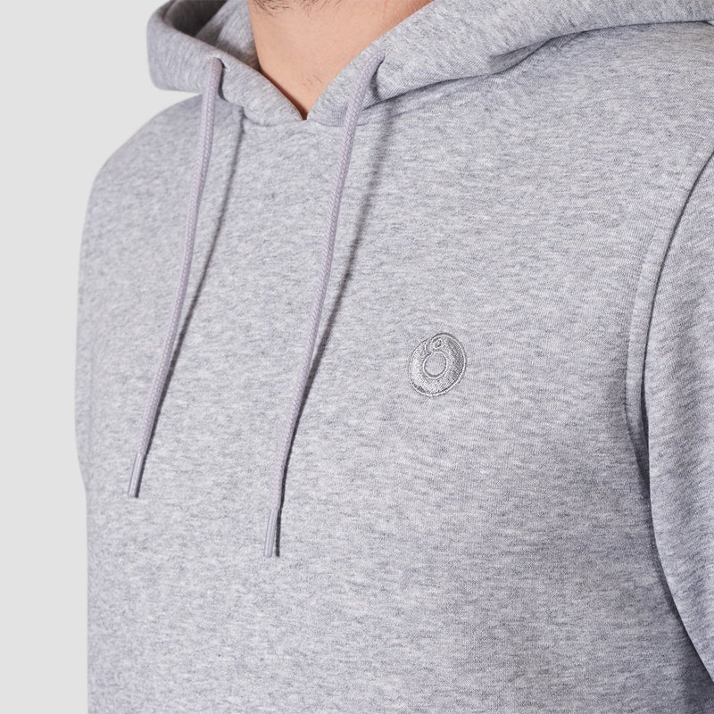 Rollersnakes Chunker Pullover Hood Heather Grey - Clothing