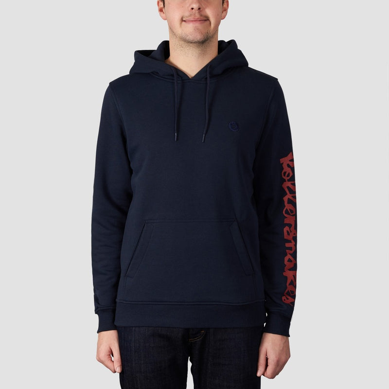 Rollersnakes Chunker Pullover Hood Navy - Clothing