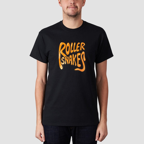 Rollersnakes Classic Tee Black - Clothing