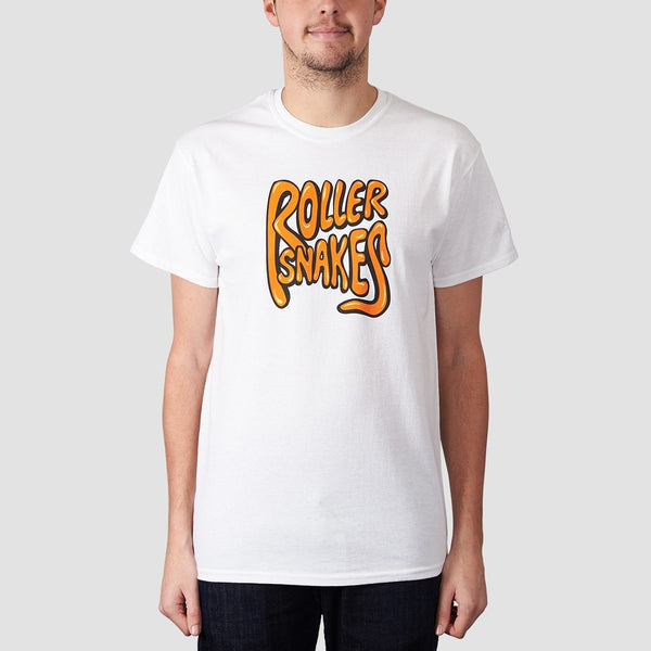 Rollersnakes Classic Tee White - Clothing