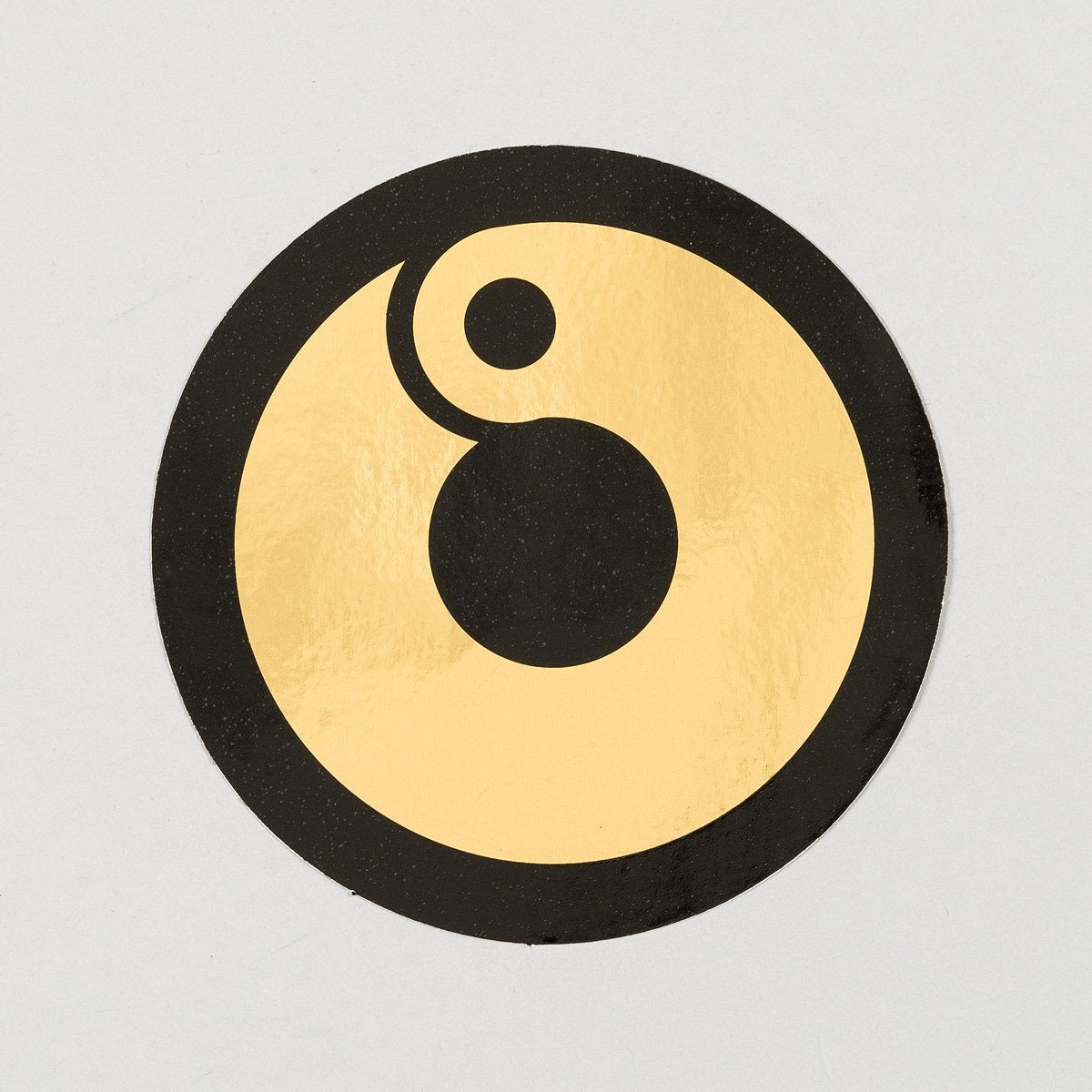 Rollersnakes Hooper Sticker Gold/Black 110mm - Skateboard