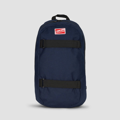 Rollersnakes Strapped Backpack Navy