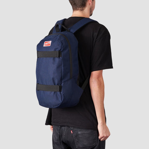 Rollersnakes Strapped Backpack Navy - Accessories