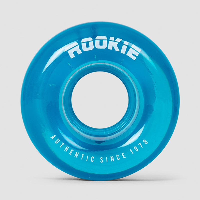 Rookie Disco Quad Wheels x4 Clear Blue 58mm