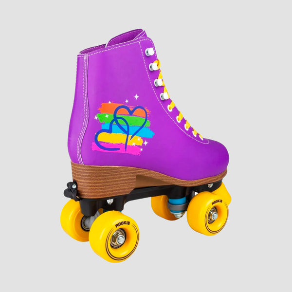 Rookie Passion Adjustable Quad Skates Purple - Kids