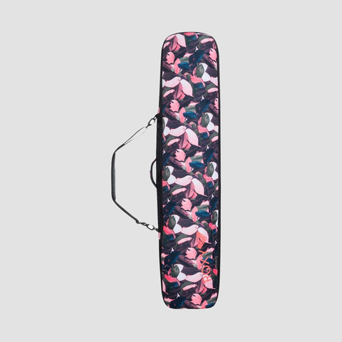 Roxy 102L Board Sleeve Snowboard Bag Living Coral Plumes - Womens