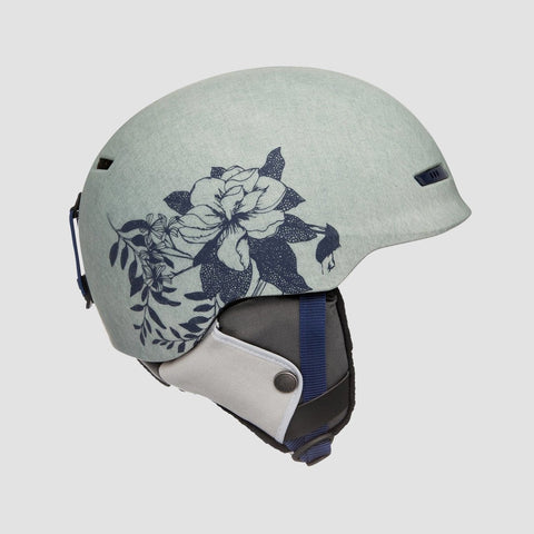 Roxy Angie Snow Helmet Botanical Flowers - Womens