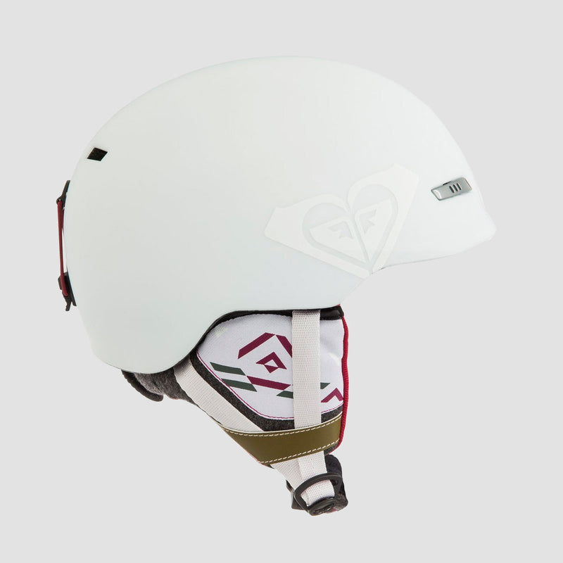 Roxy Angie Snow Helmet Bright White - Womens