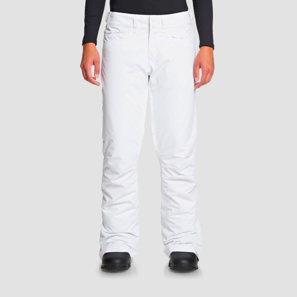 Roxy Backyard Snow Pants Bright White - Womens