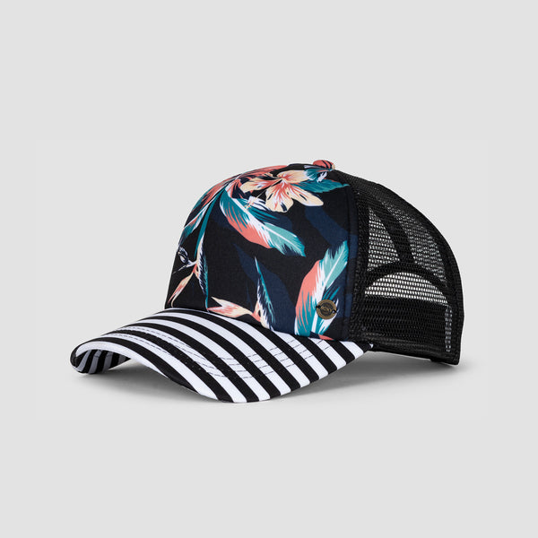 Roxy Beautiful Morning Cap Anthracite Tropicoco - Womens