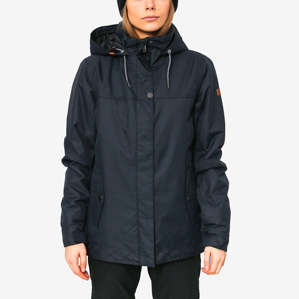 Roxy Billie Snow Jacket True Black - Womens