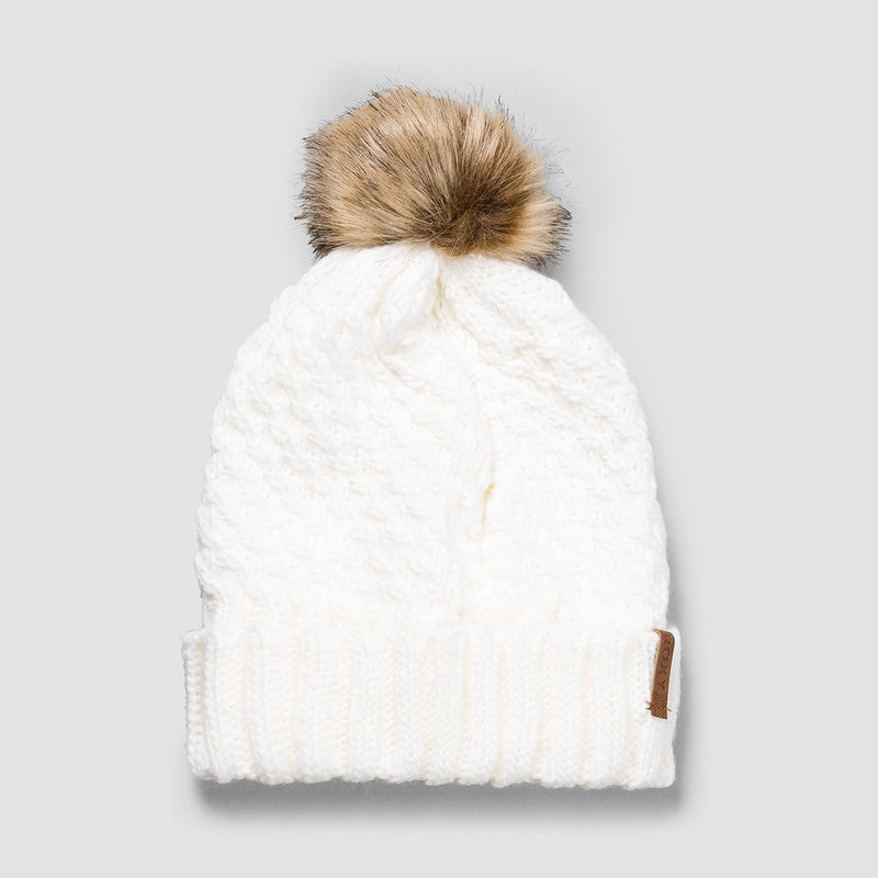 Roxy Blizzard Beanie Egret - Womens - Accessories