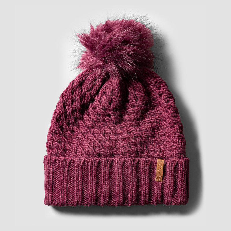 Roxy Blizzard Beanie Grape Wine - Womens