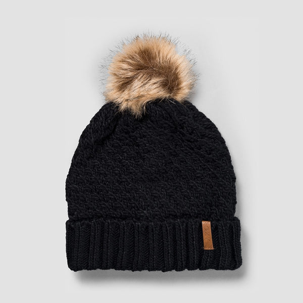 Roxy Blizzard Beanie True Black - Womens - Accessories