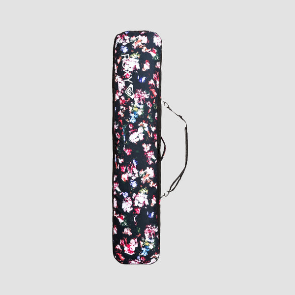 Roxy Board Sleeve 102L Snowboard Bag True Black Blooming Party - Womens
