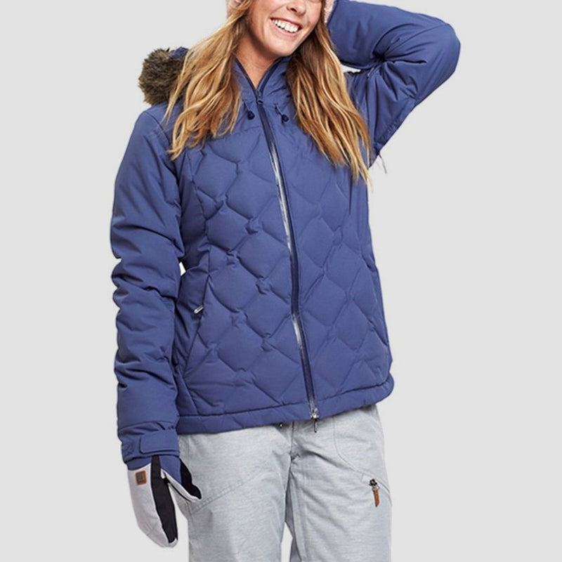 Roxy Breeze Snow Jacket Crown Blue - Womens - Snowboard