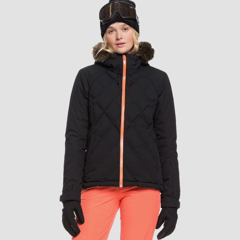 Roxy Breeze Snow Jacket True Black - Womens
