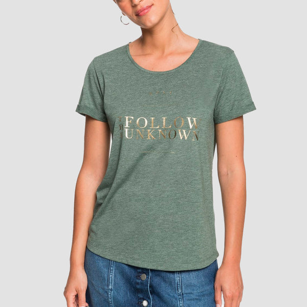 Roxy Call It Dreaming Tee Cilantro - Womens