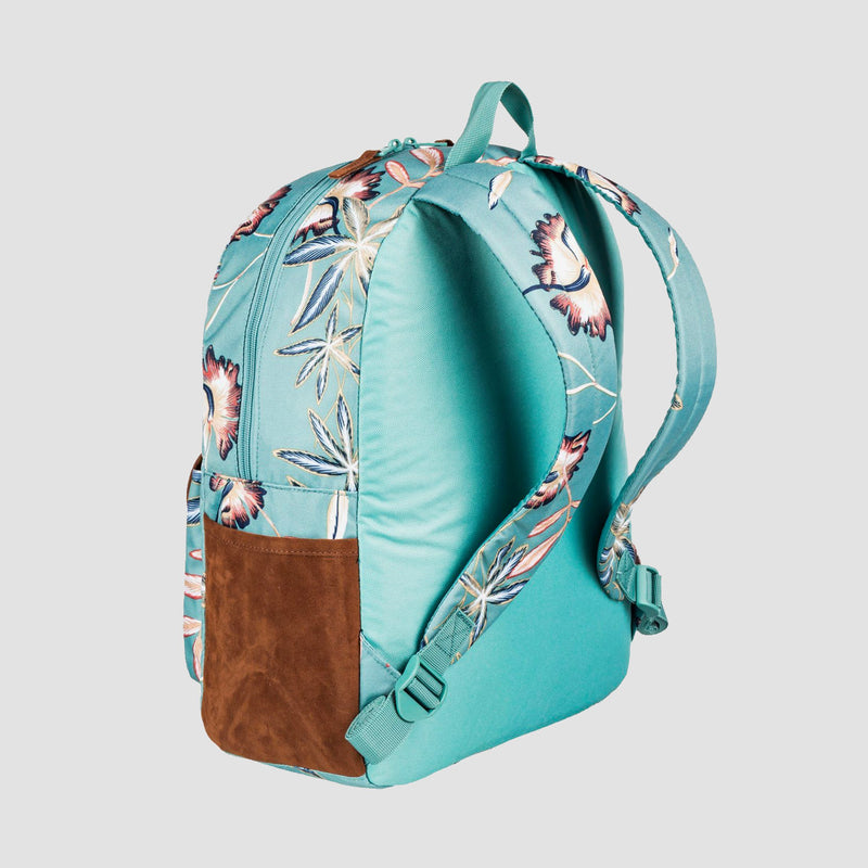 Roxy Carribean 18L Backpack Trellis Bird Flower - Womens