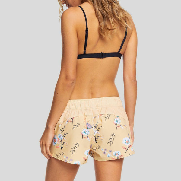 Roxy Catch A Wave Boardshorts Sahara Sun On The River S - Womens