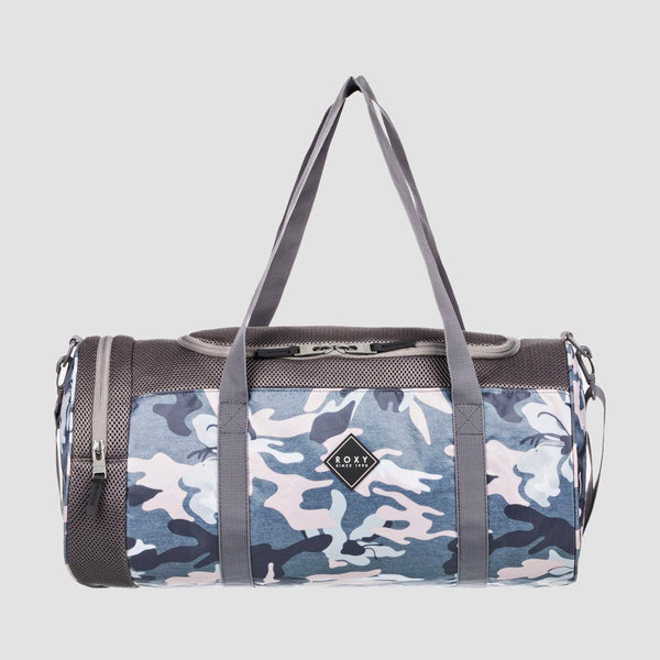 Roxy Celestial World 33L Sports Duffle Bag Charcoal Heather Darwin S - Womens