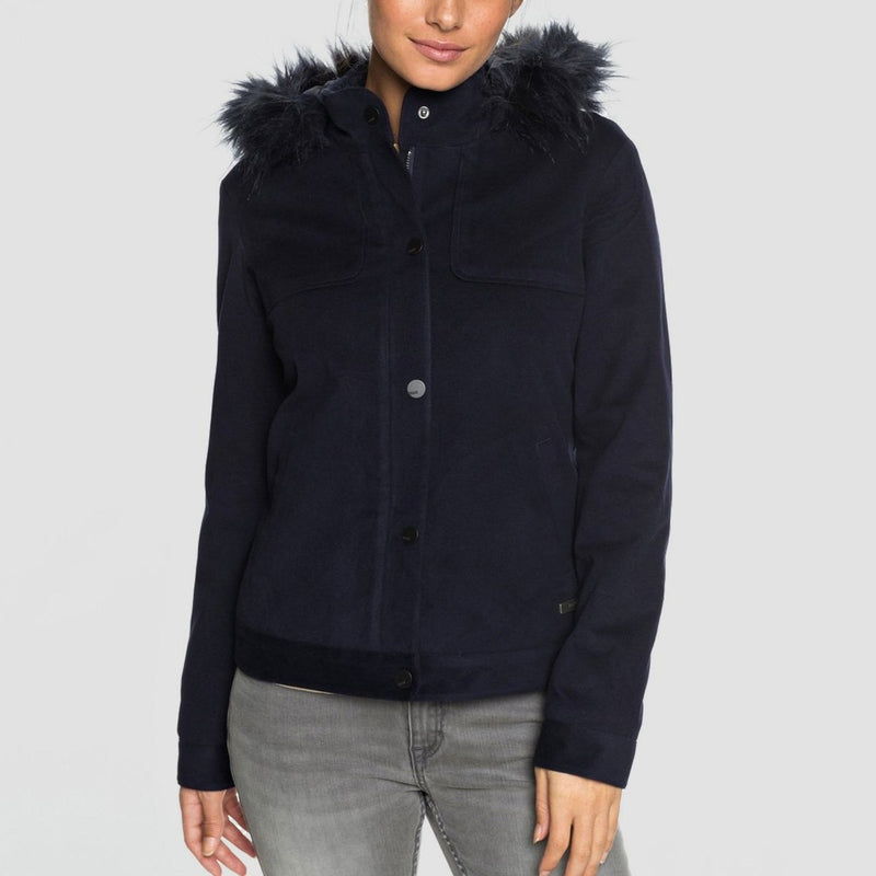 Roxy Chic And Snow Jacket Dress Blues - Womens - Snowboard