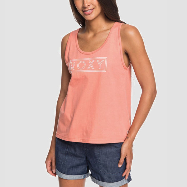 Roxy Closing Party Vest Top Terra Cotta - Womens