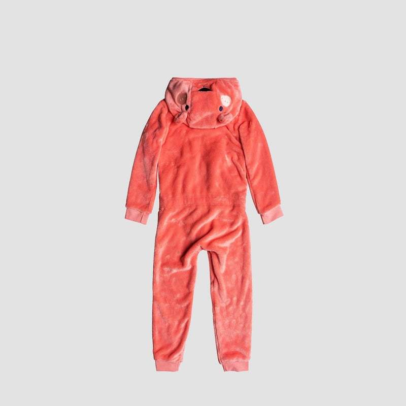 Roxy Cozy Up Onesie Shell Pink - Kids - Clothing