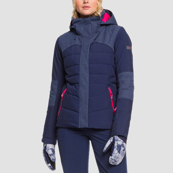 Roxy Dakota Snow Jacket Medieval Blue - Womens
