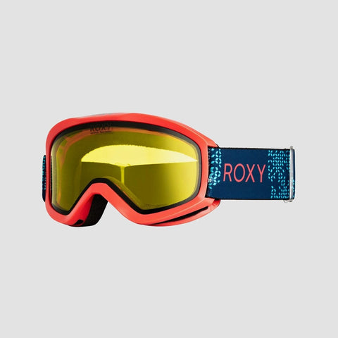 Roxy Day Dream Bad Weather Snow Goggles Living Coral - Womens