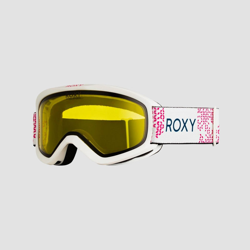 Roxy Day Dream Bad Weather Snow Googles Bright White - Womens - Snowboard