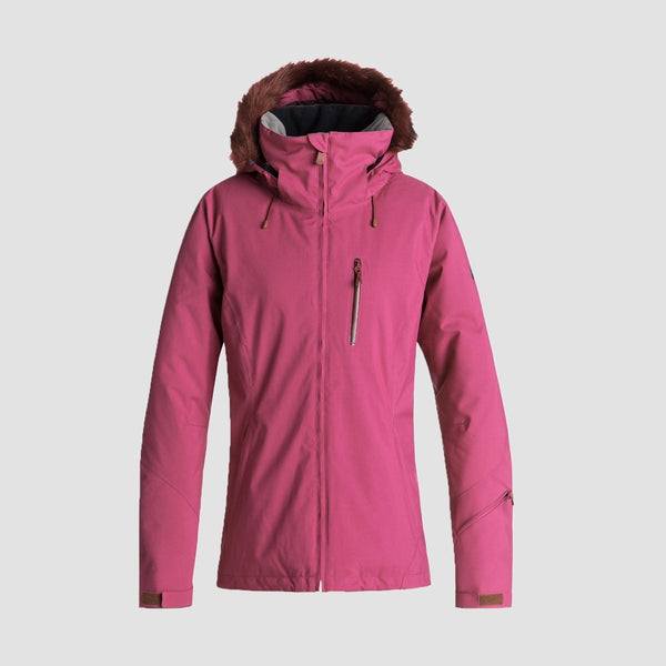 Roxy Down The Line Snow Jacket Beet Red - Womens - Snowboard