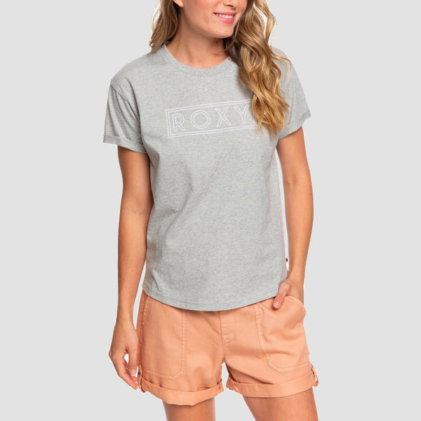 Roxy Epic Afternoon Tee Heritage Heather - Womens