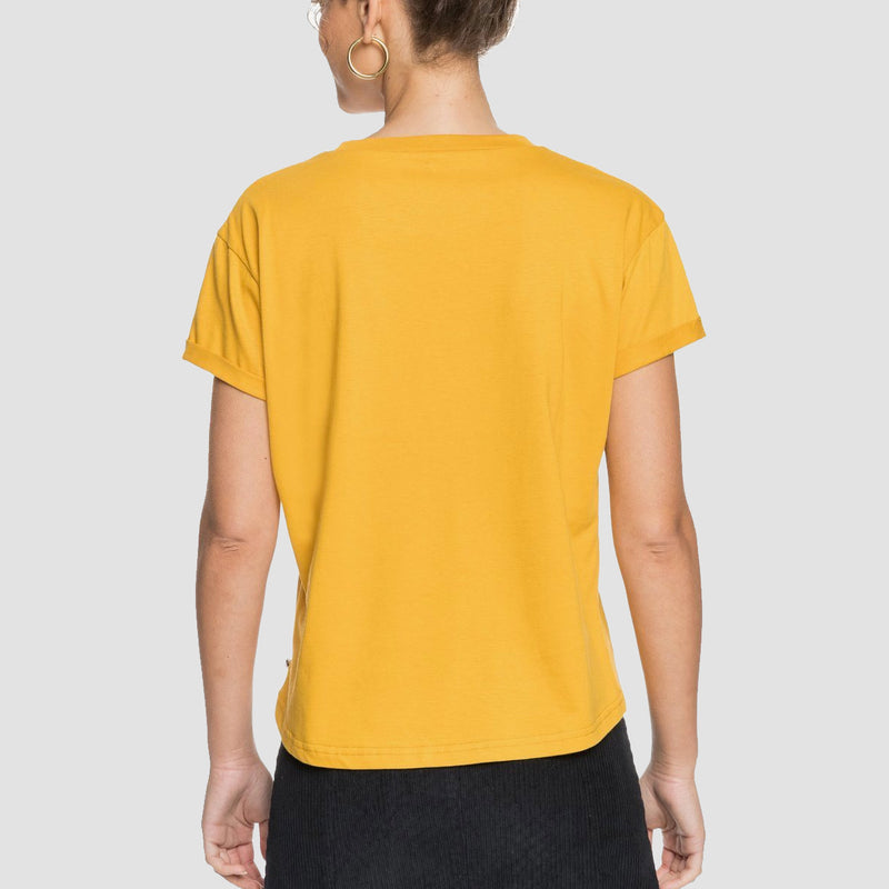 Roxy Epic Afternoon Tee Mineral Yellow - Womens