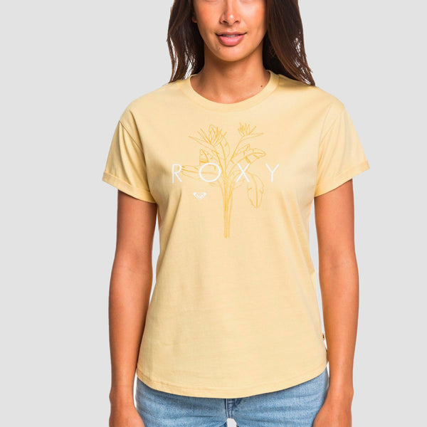 Roxy Epic Afternoon Tee Sahara Sun - Womens