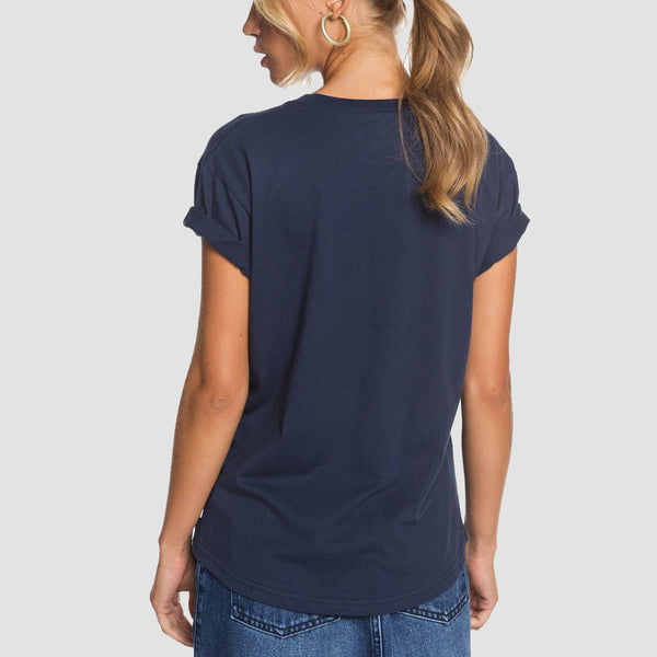 Roxy Epic Afternoon Tee Mood Indigo - Womens