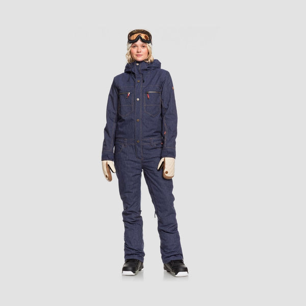 Roxy Formation Snowsuit Mid Denim - Womens - Snowboard