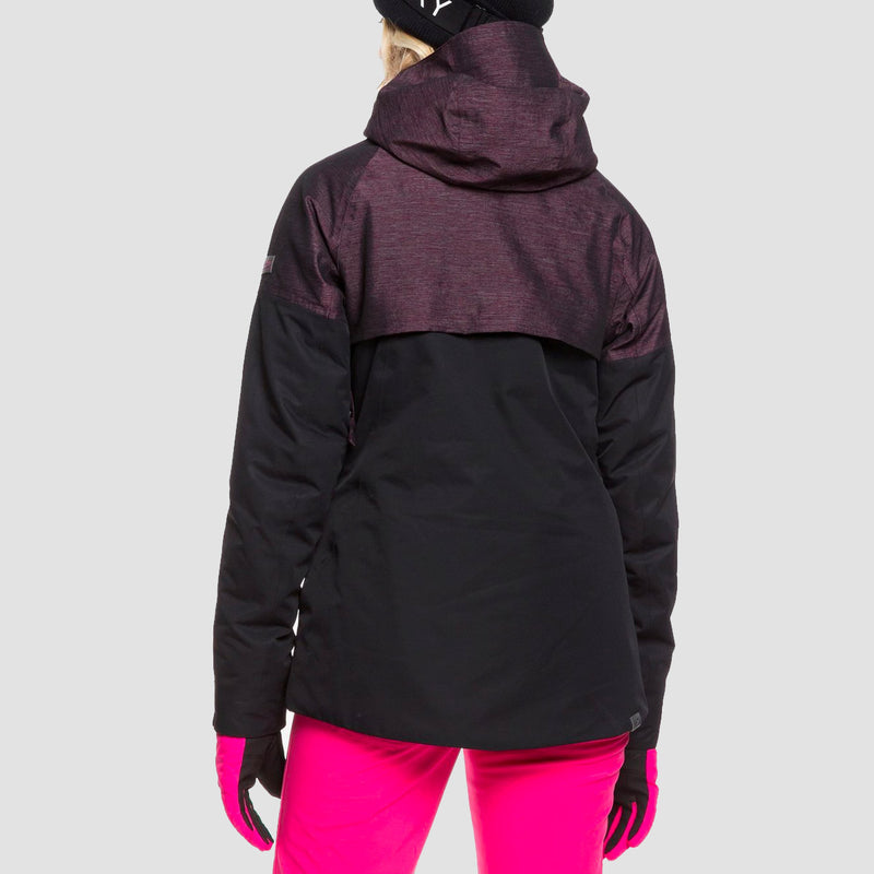Roxy Frozen Flow Snow Jacket True Black - Womens