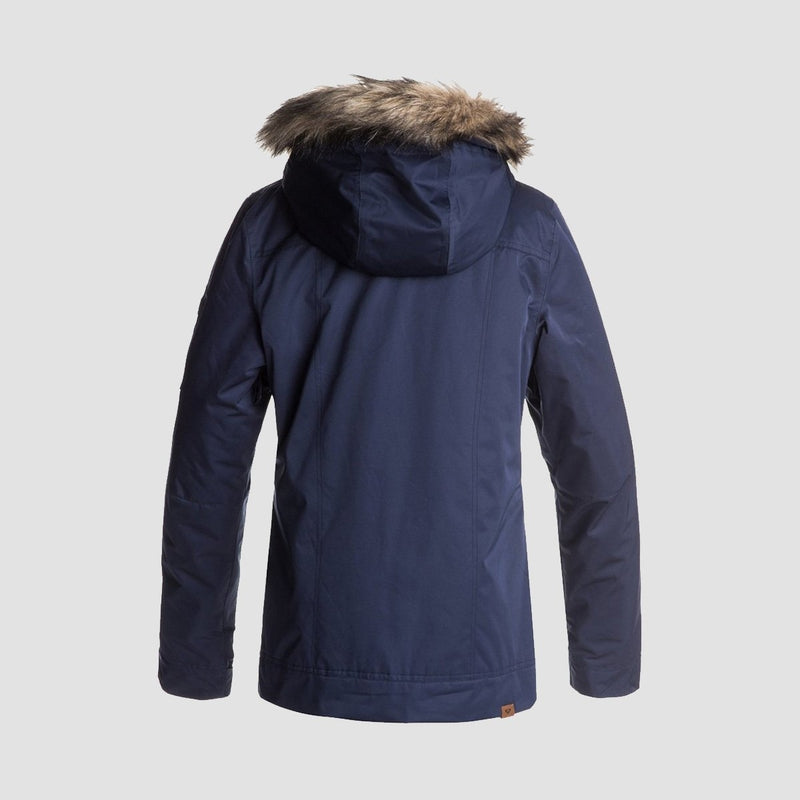 Roxy Grove Snow Jacket Peacoat - Womens - Snowboard