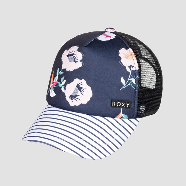 Roxy Honey Coconut Girls Cap Mood Indigo Better Way S - Kids