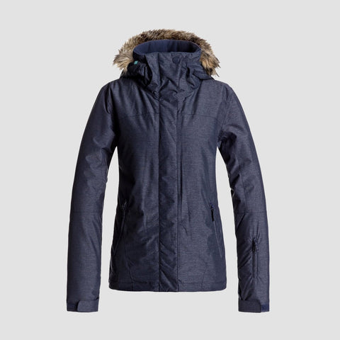 Roxy Jet Ski Snow Jacket Peacoat - Womens