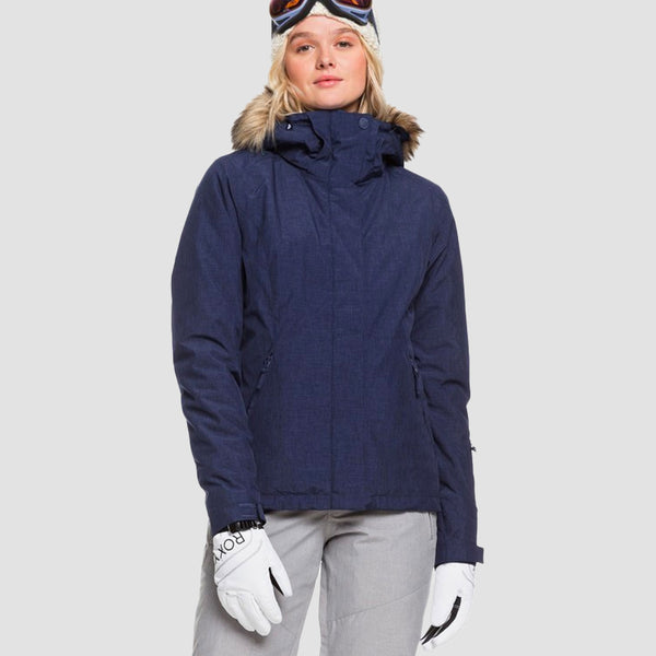 Roxy Jet Ski Solid Snow Jacket Medieval Blue - Womens