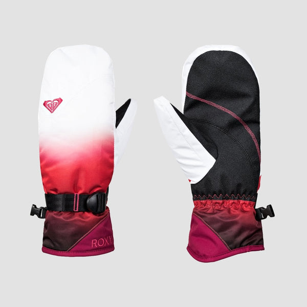 Roxy Jetty SE Snow Mittens Tea Berry/Wave Gradient - Womens - Snowboard