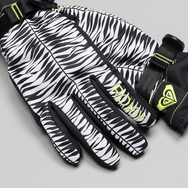 Roxy Jetty Snow Gloves True Black/Savanna - Womens - Snowboard
