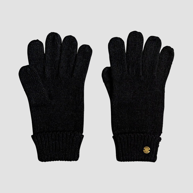 Roxy Let It Snow Gloves Anthracite - Womens