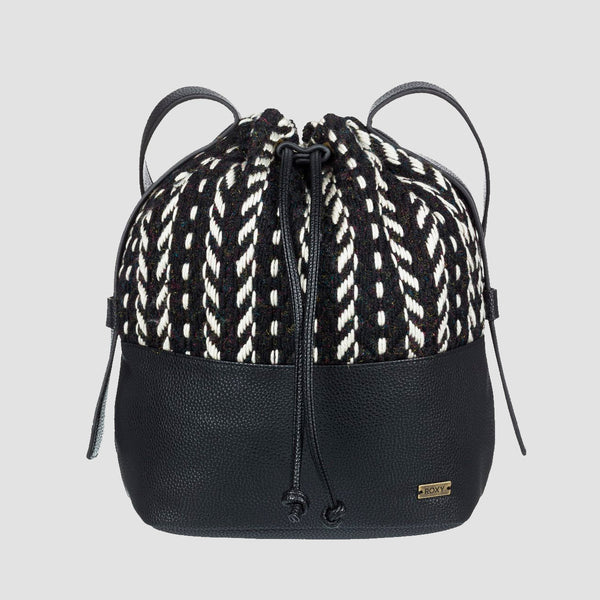 Roxy Local Love 2.5L Bucket Bag Anthracite - Womens
