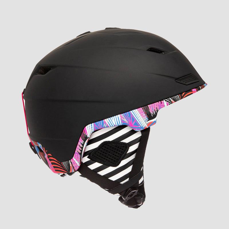 Roxy Loden Snow Helmet True Black Active Base - Womens